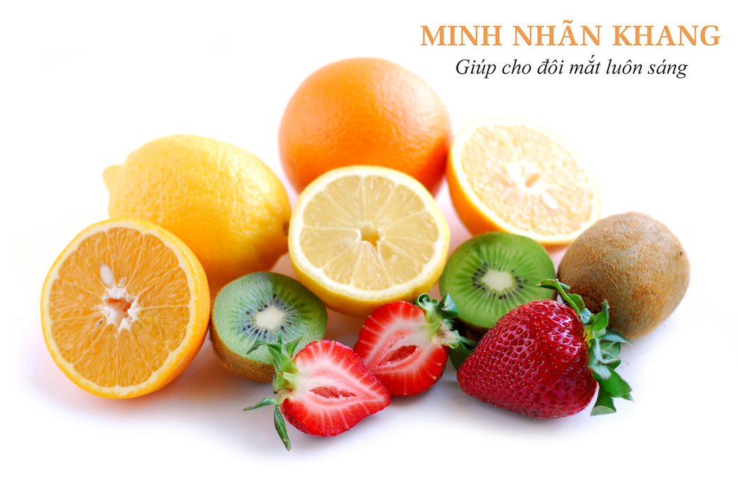 Nên tăng cường nhóm thức ăn bổ mắt giàu vitamin C